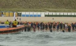 zwemmen langs Walcheren Dishoek - Zoutelande 2018