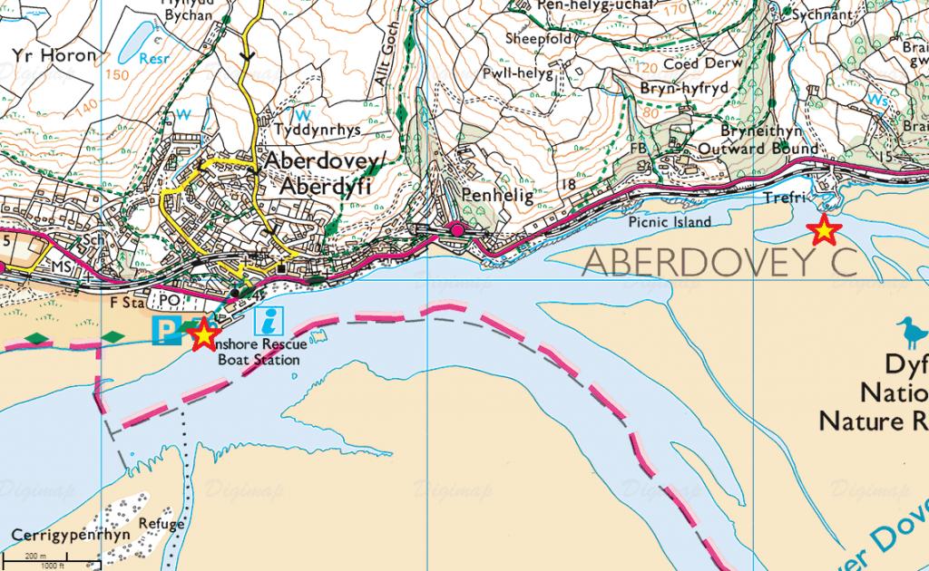 BeatTheTide Aberdovey route