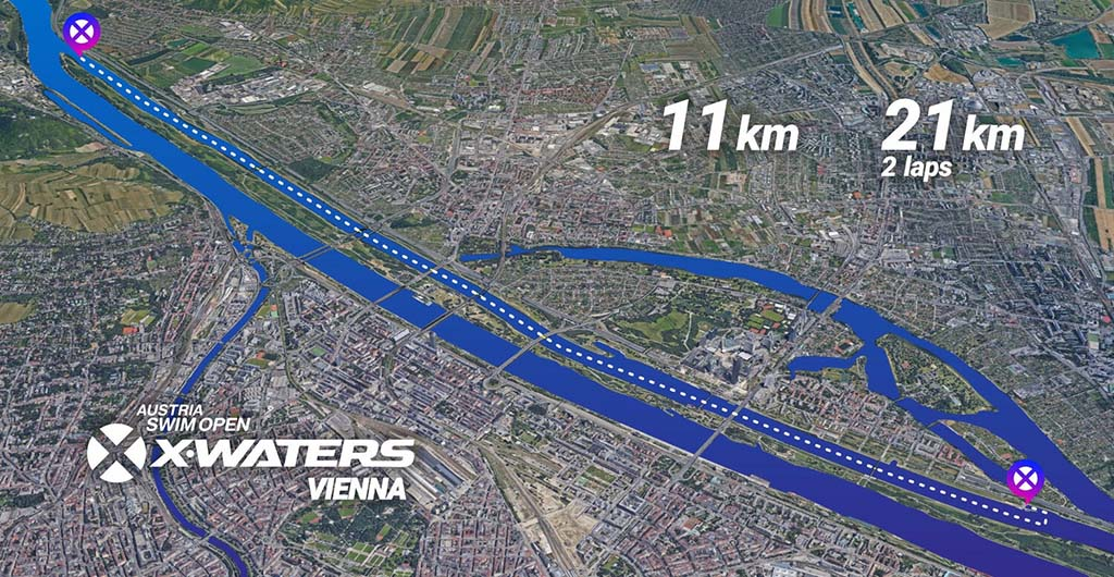 Xwaters parcours 5km 2020
