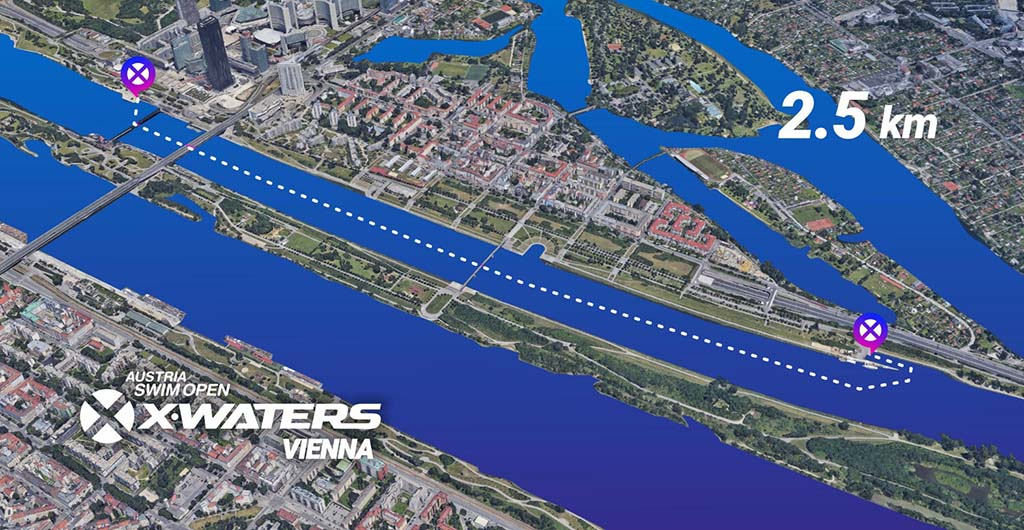 XwatersWenen  parcours 2.5km 2020