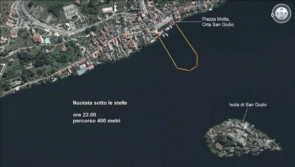 nuotatasottolestelle parcours 400m nacht