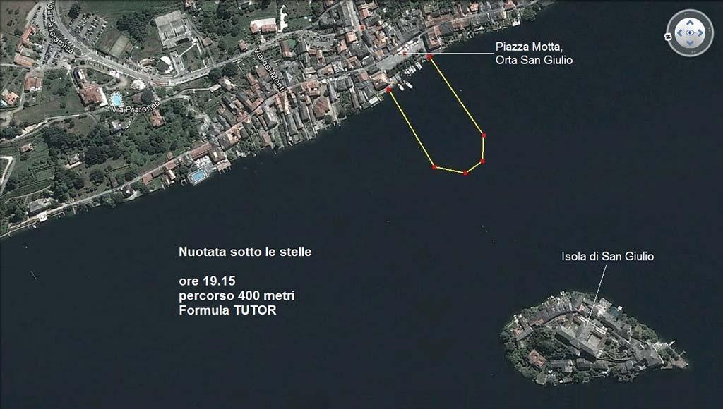 nuotatasottolestelle parcours 400m tutor